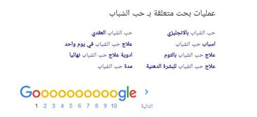 عمليات بحث متعلقة جوجل